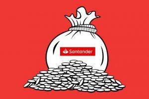 Sesje przychodzące i wychodzące w banku Santander