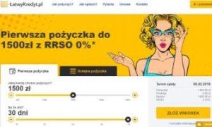 ŁatwyKredyt - szybkie pożyczki pozabankowe przez Internet
