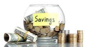 Oszczędzanie pieniędzy na etacie